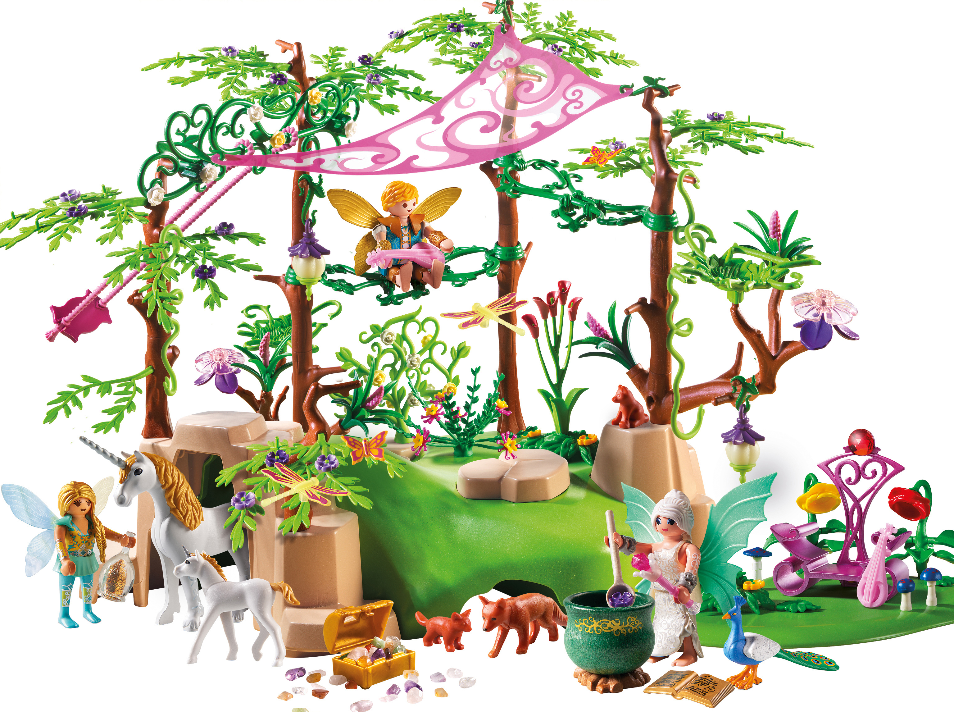 PLAYMOBIL Magical Fairy Forest by Playmobil