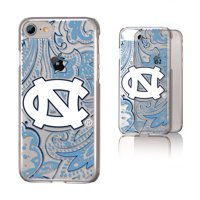affb47a6e292f2 Product Image UNC North Carolina Tar Heels Paisley Clear Case for iPhone 8    7   6