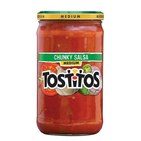 Tomato Jalapeno - Tostitos Chunky Medium Salsa, 24 oz