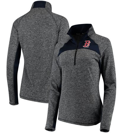 Boston Red Sox Fanatics Branded Women s Static Quarter-Zip Pullover ... 90428f206c