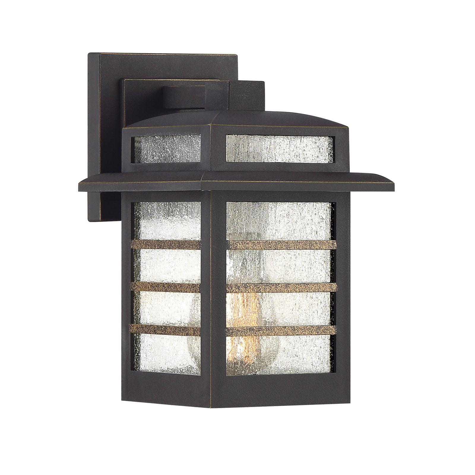 Quoizel Plaza PLA8406PN Outdoor Wall Lantern