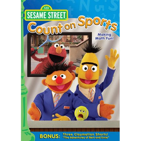 Sesame Street: Count On Sports (DVD) - Sesame Street Count