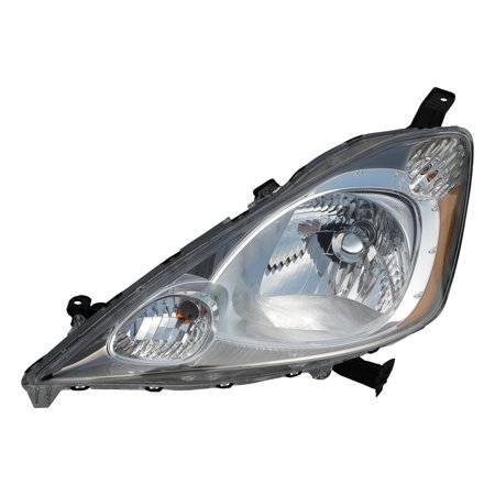 2009-2013 Honda Fit Sport Driver Left Side Headlight Lamp Assembly