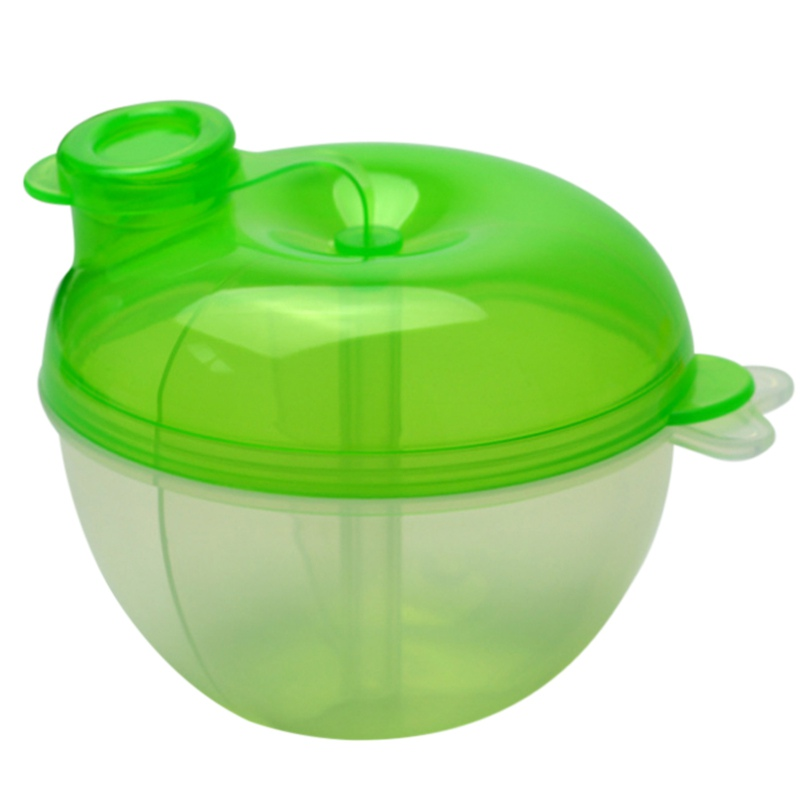 Milk Powder Dispenser 3 Dose of Baby Feeding Formula Storage Pot Container