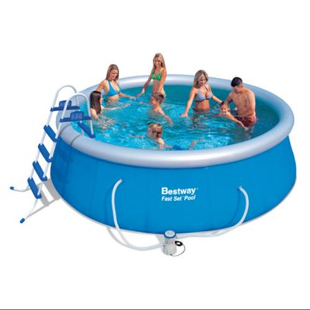 Bestway 15 39 X 48 Fast Set Inflatable Above Ground