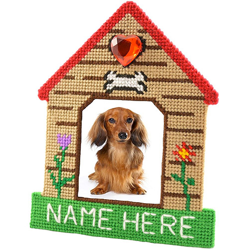"Kennel Club Framous Plastic Canvas Kit, 7.5"" x 6.1"", 10 Count"