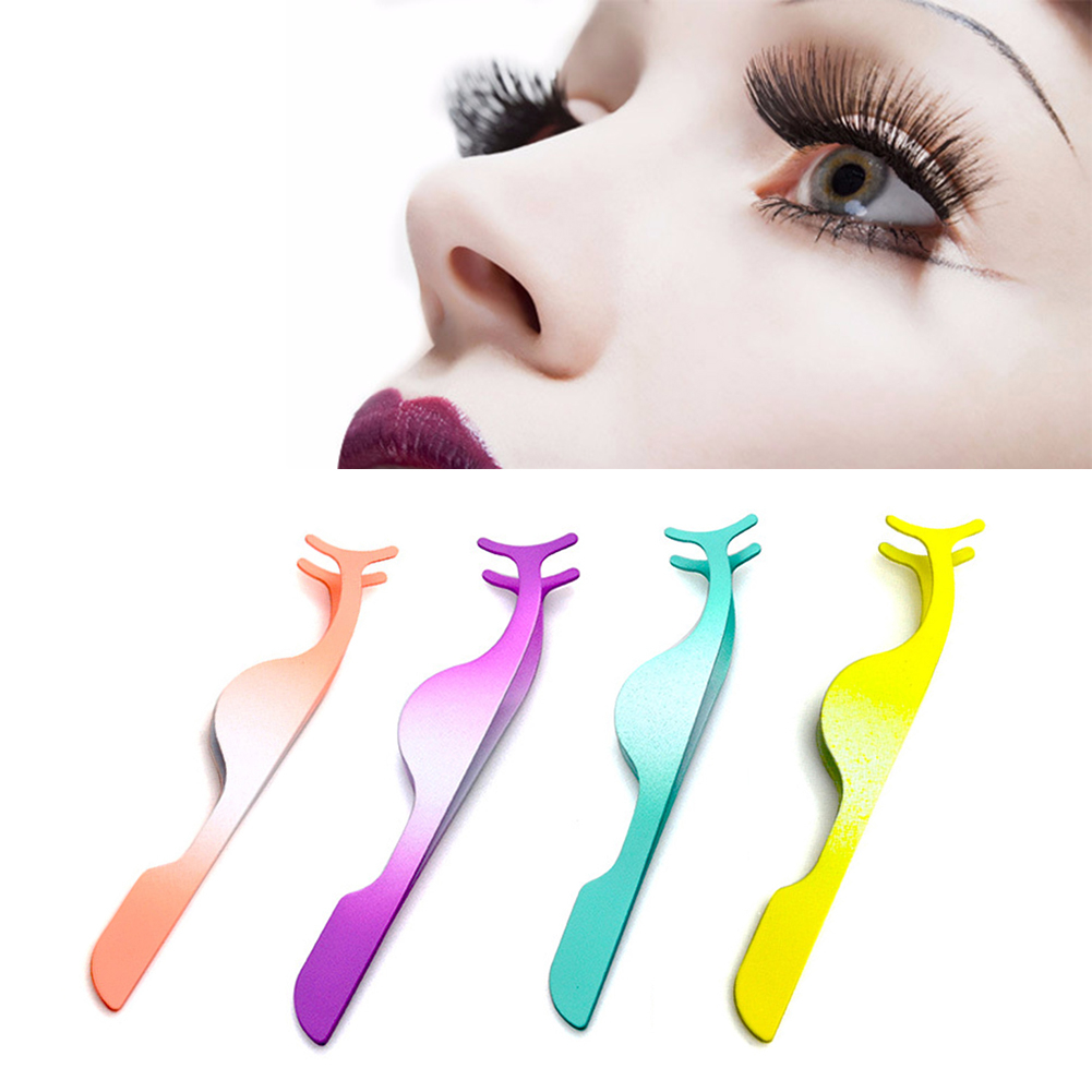 Fashion Eye Makeup Curling Eyelash Curler Clip Women Beauty Stainless Steel