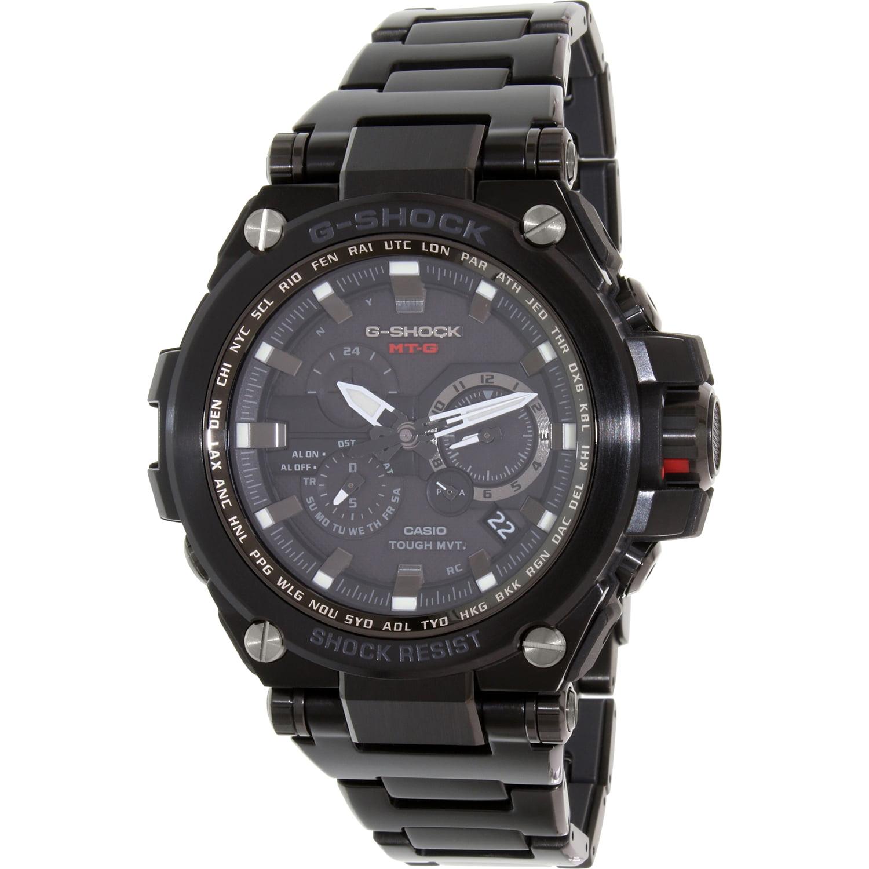 Casio Men's G-Shock MTGS1000BD-1A Black Stainless-Steel Q...