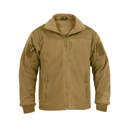 0ba9e40c9 Special Ops Tactical Fleece Jacket, Coyote Brown, Large