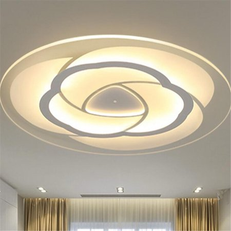 Ceiling Lamp For Foyer Ceiling Lights & Fans Led Modern Iron Acryl Round Black White Lucky Ring Led Lamp.led Light.ceiling Lights.led Ceiling Light
