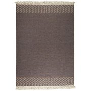 M A Trading MTBVALBRO056071 Hand Woven 2046 5. 5 ft.  x 7. 83 ft.  Area Rug - Brown