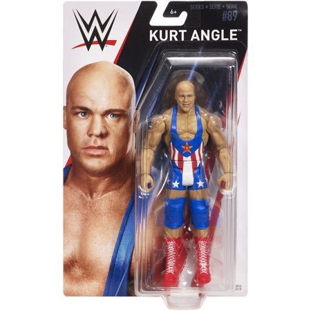 Kurt Angle - WWE Series 89 Toy Wrestling Action - Wwe Toy Rings