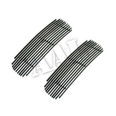 AAL REPLACEMENT BILLET GRILLE / GRILL INSERT For 2003 2004 INFINITI G35 (4 DOOR SEDAN BUMPER) NISMO MODEL ONLY 2PCS BUMPER REPLACEMENT ()