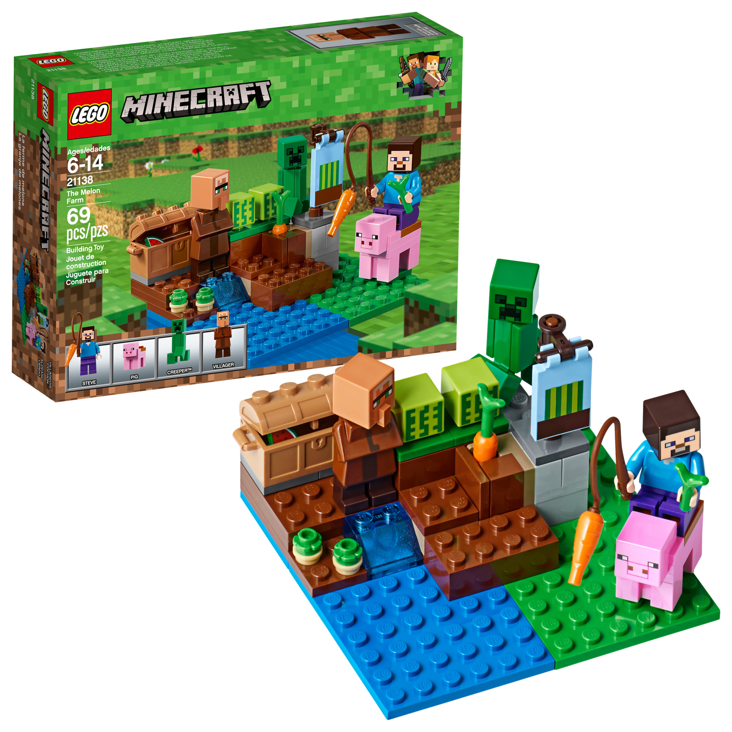 Lego Minecraft The Melon Farm 21138 by LEGO System Inc