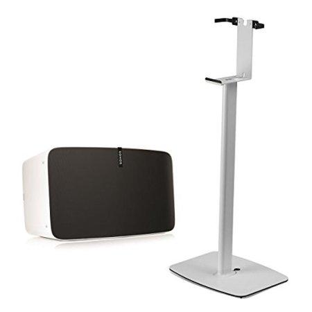 Sonos Play 5 Wireless Smart Speaker With Flexson Vertical Floor Stand  White