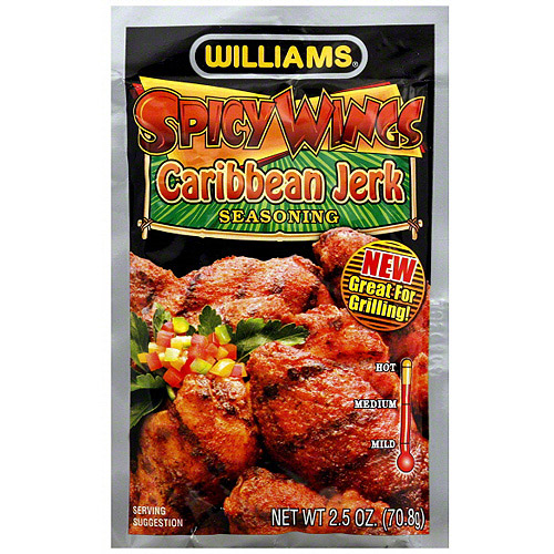 Williams Spicy Wings Caribbean Jerk Seas