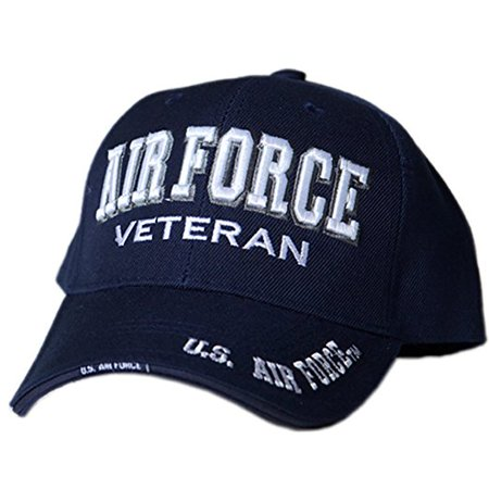063d24f867 US Honor Official Embroidered Veteran Shadow Air Force Baseball Caps Hats -  Walmart.com