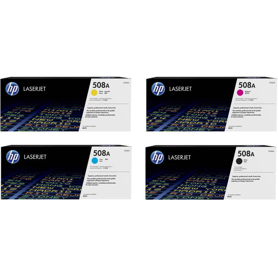 HP 508A Toner Cartridge Set, 4-Pack by HP