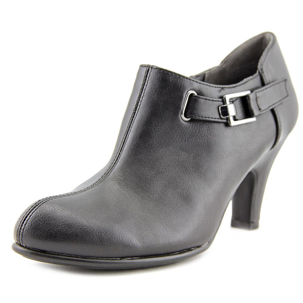 Aerosoles Seascape Women Round Toe Synthetic Black Ankle Boot by Aerosoles