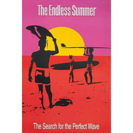 the endless summer poster. Black Bedroom Furniture Sets. Home Design Ideas