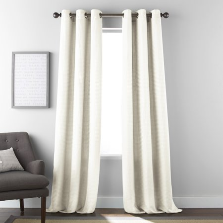 Nanshing Dean Window Curtain Panels Set of 2 with Grommet ()