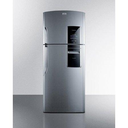 Summit Appliance Ingenious 18.2 cu. ft. Counter Depth Top Freezer Refrigerator With