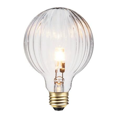 Globe Electric 40 Watt 40W Designer Vintage Globo Halogen Light Bulb