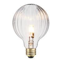 Globe Electric 40W Designer Vintage Edison Globo Halogen Light Bulb, 84656