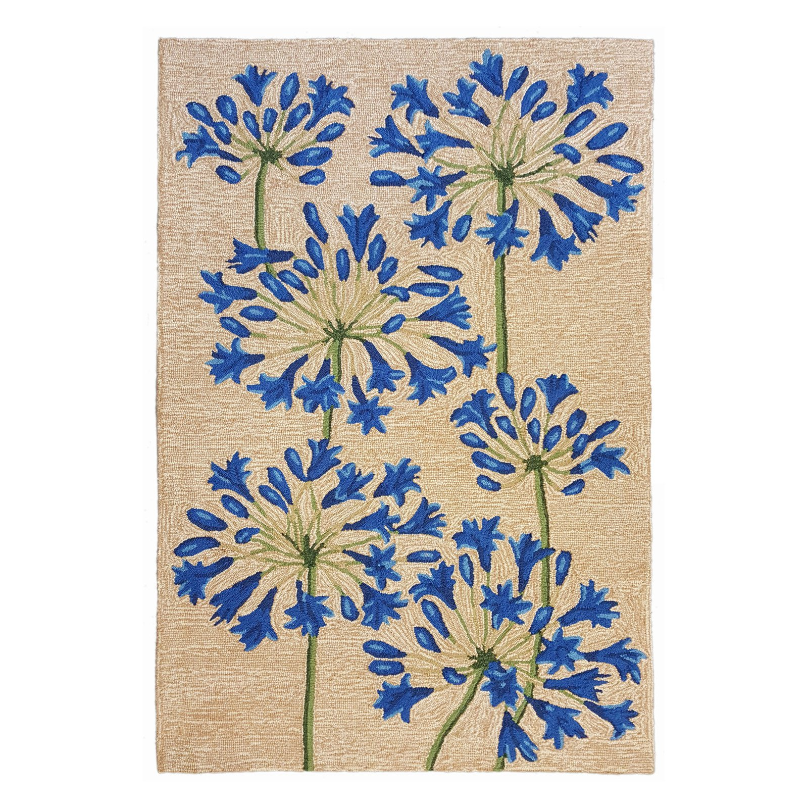 """RAVELLA 2273/12 DESERT LILY NEUTRAL - 7'6""""X9'6"""" Area Rug by Trans-Ocean"""