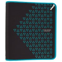 "Five Star Xpanz 2"" Zipper Binder, 380 Sheet Capacity, Teal (28090HZ9)"