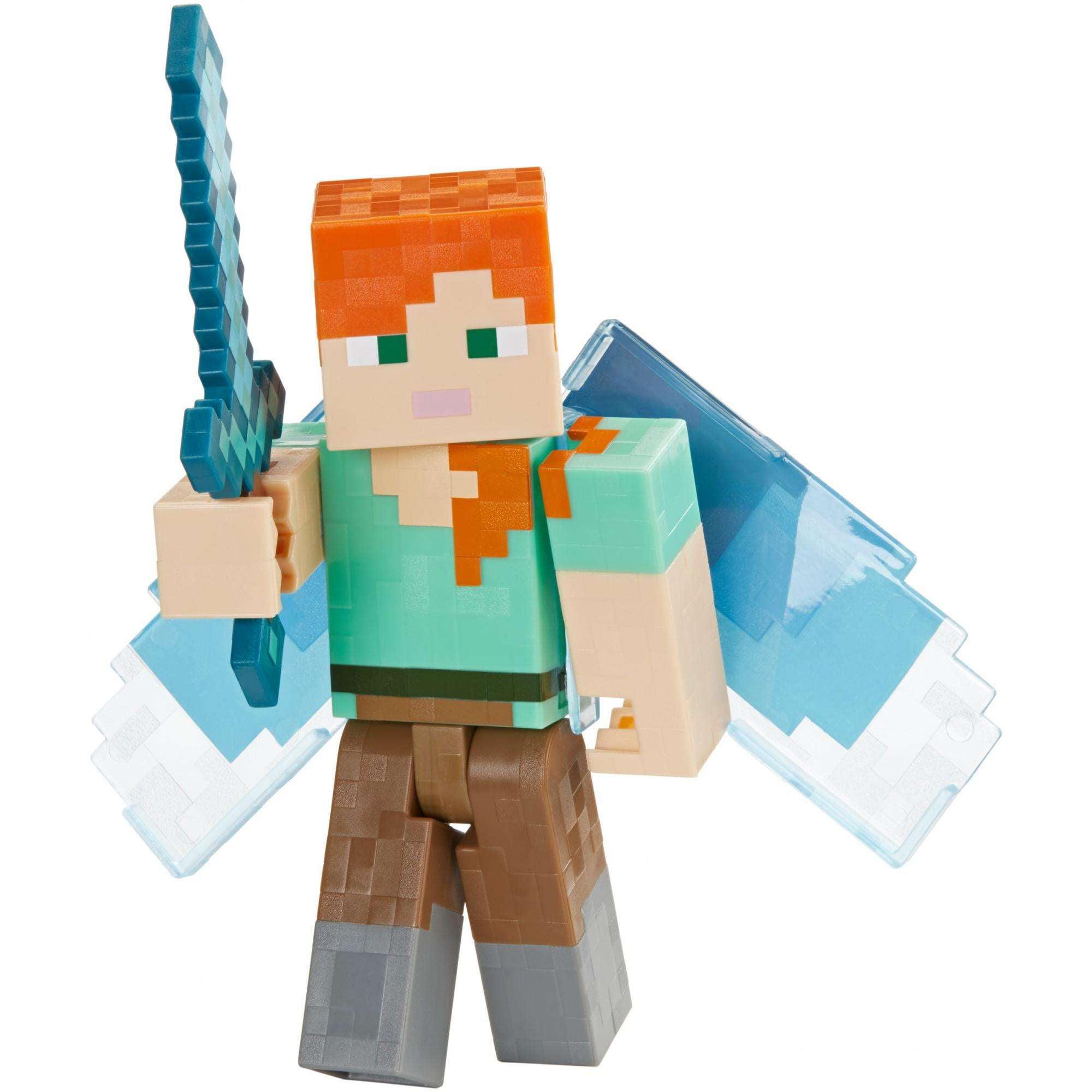 Minecraft Alex With Elytra Basic Figure by Mattel