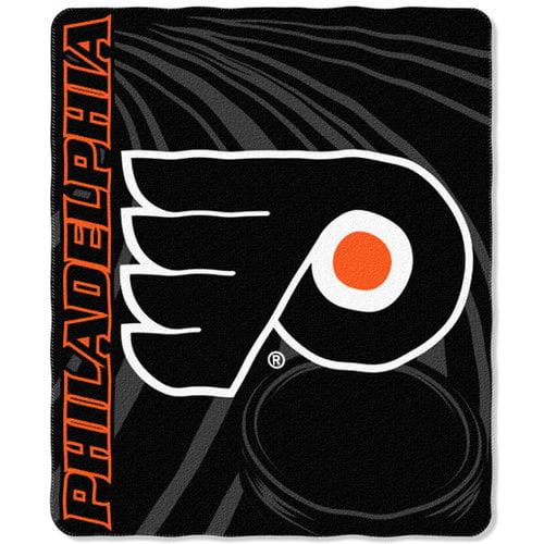 NHL - Philadelphia Flyers 50x60 Swoosh Fleece Throw