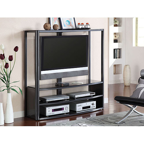 Venetian Faron II Black TV/Entertainment Center for TVs up to 60""