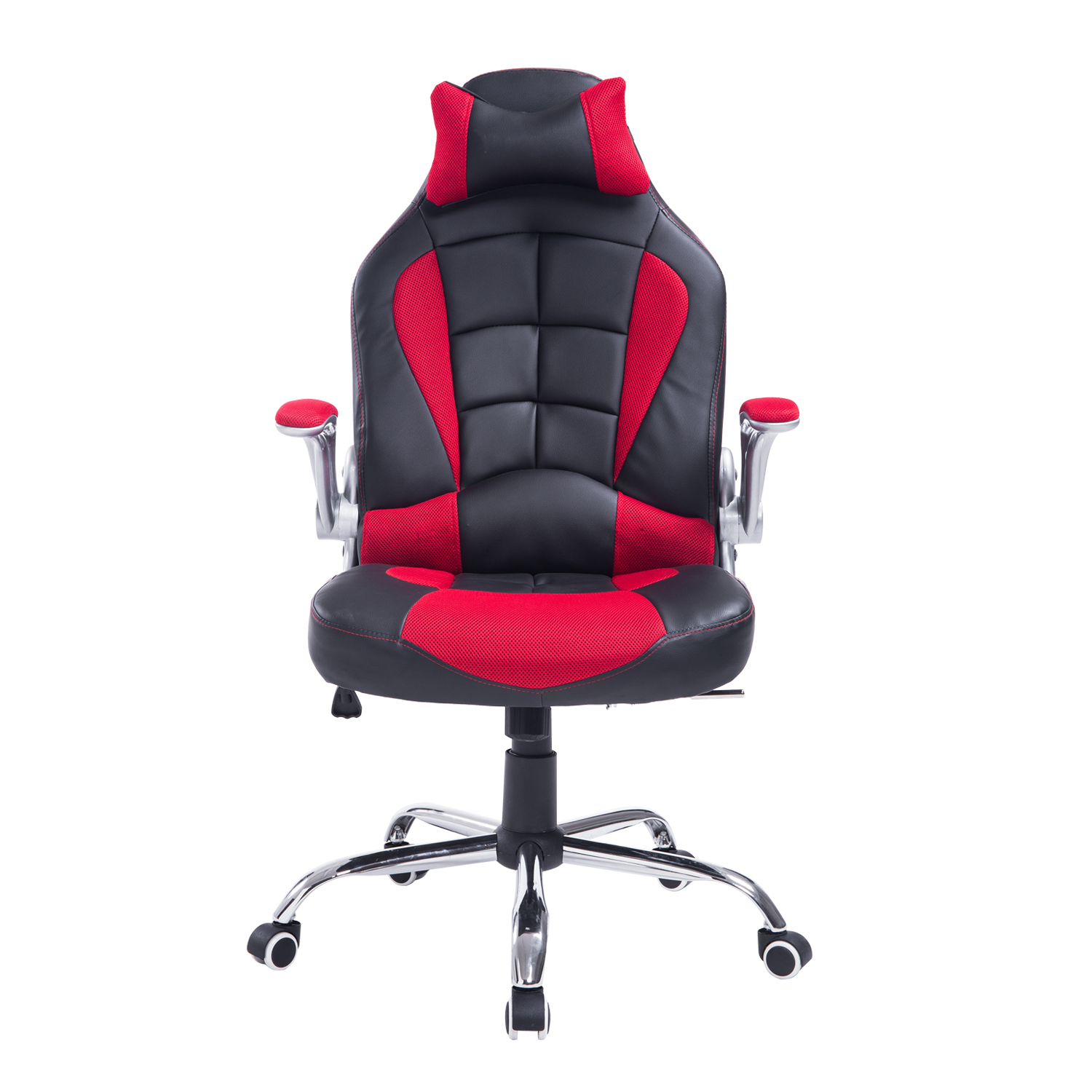 Etonnant HomCom Racing Style Executive Gaming Office Chair   Black And Red