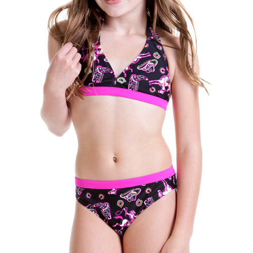 Op Girls' 2 Piece Halter Bikini Set