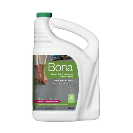 - Bona Stone, Tile & Laminate Floor Cleaner Refill, 96 fl oz