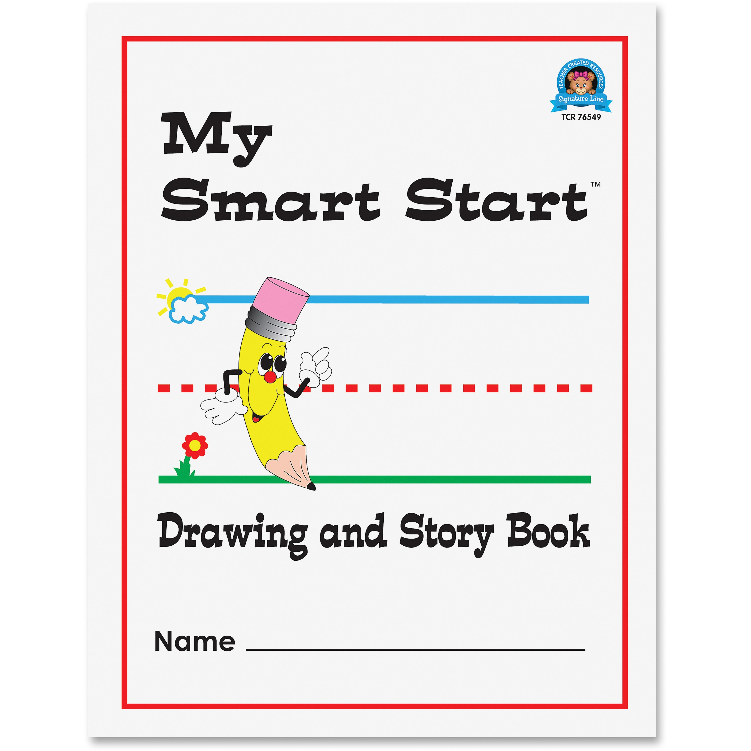 Teacher Created Resources Grades 1-2 Drawing/Story Book, 1 Each (Quantity)