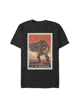 Star Wars The Mandalorian Men's Trading Card T-Shirt