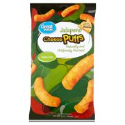 Great Value Jalapeo Cheese Puffs, 8 oz