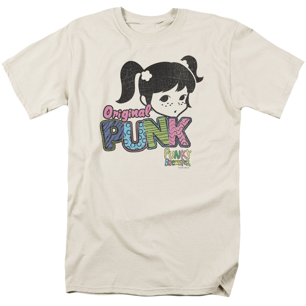 Punky Brewster/Punk Gear   S/S Adult 18/1   Cream     Nbc392