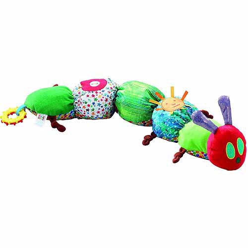 Eric Carle Tummy Time The Very Hungry Caterpillar Plush