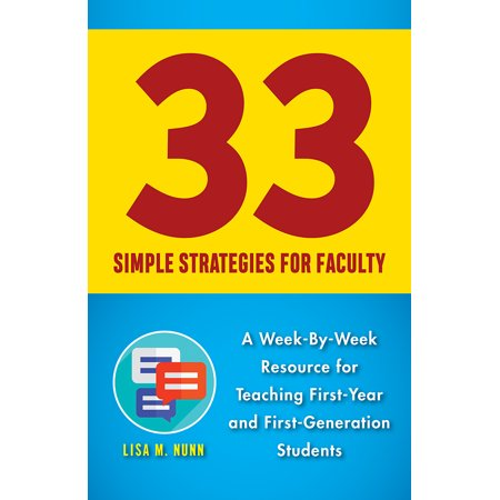 33 Simple Strategies for Faculty : A Week-By-Week Resource for Teaching First-Year and First-Generation - Halloween Teaching Resources