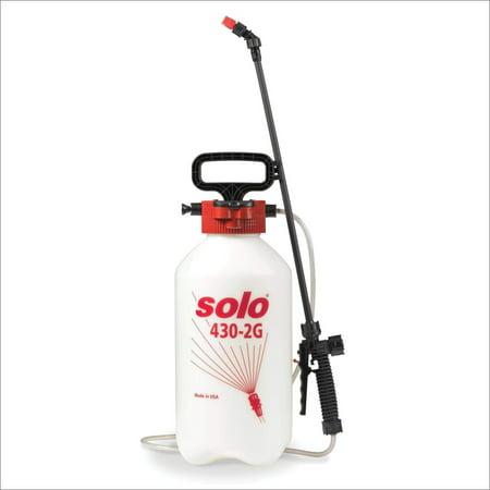 Solo 430-2G 2-Gallon Farm and Garden Sprayer with Nozzle Tips for Multiple Spraying Needs Оnе Расk Garden 2 Gallon Sprayer