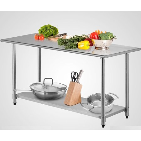 New MTNG X Work Prep Table Stainless Steel Commercial - Stainless steel commercial work table 30 x 72