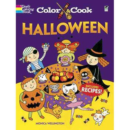Color & Cook Halloween by