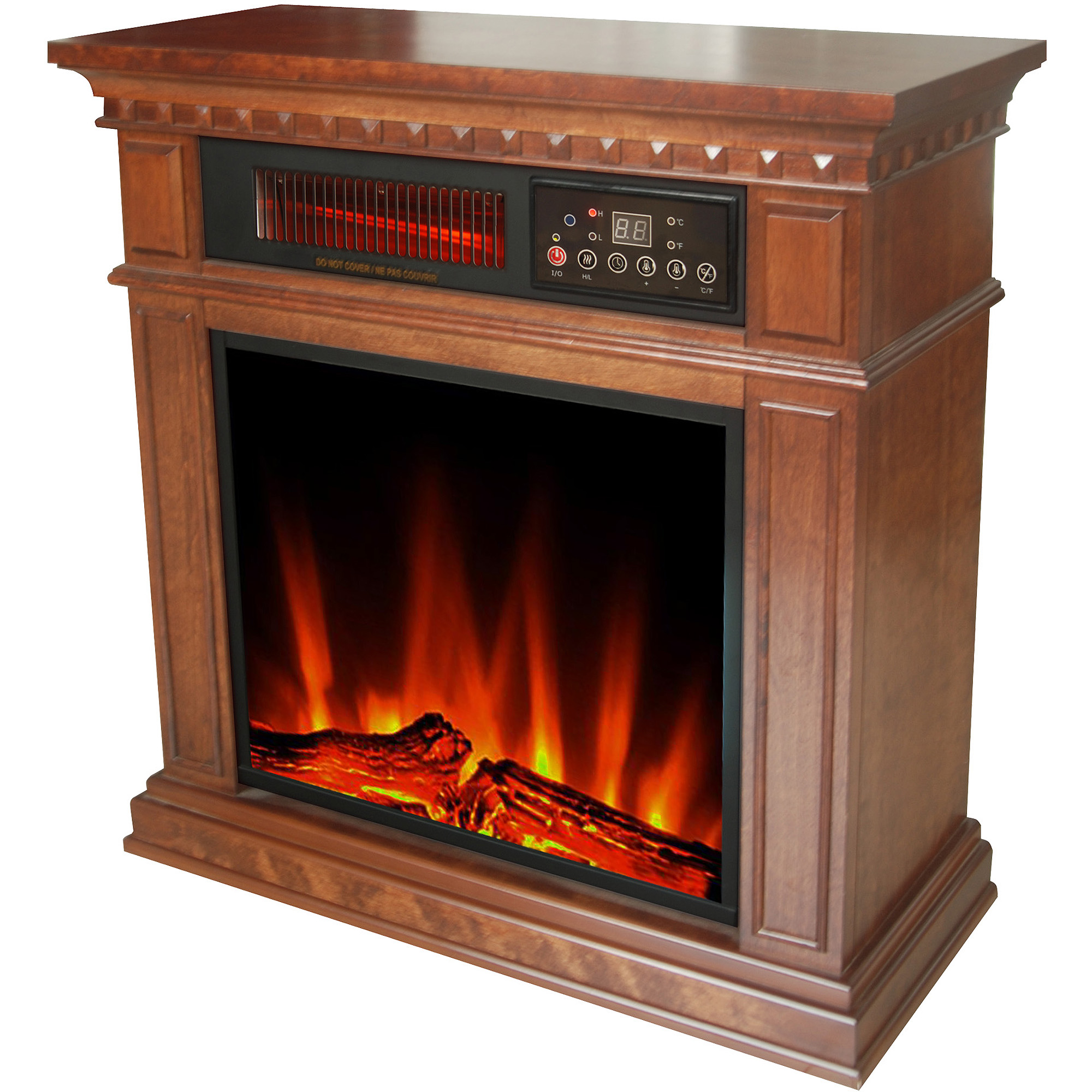 Buy Hearth Trends Dresden Infrared Fireplace at Walmart.com