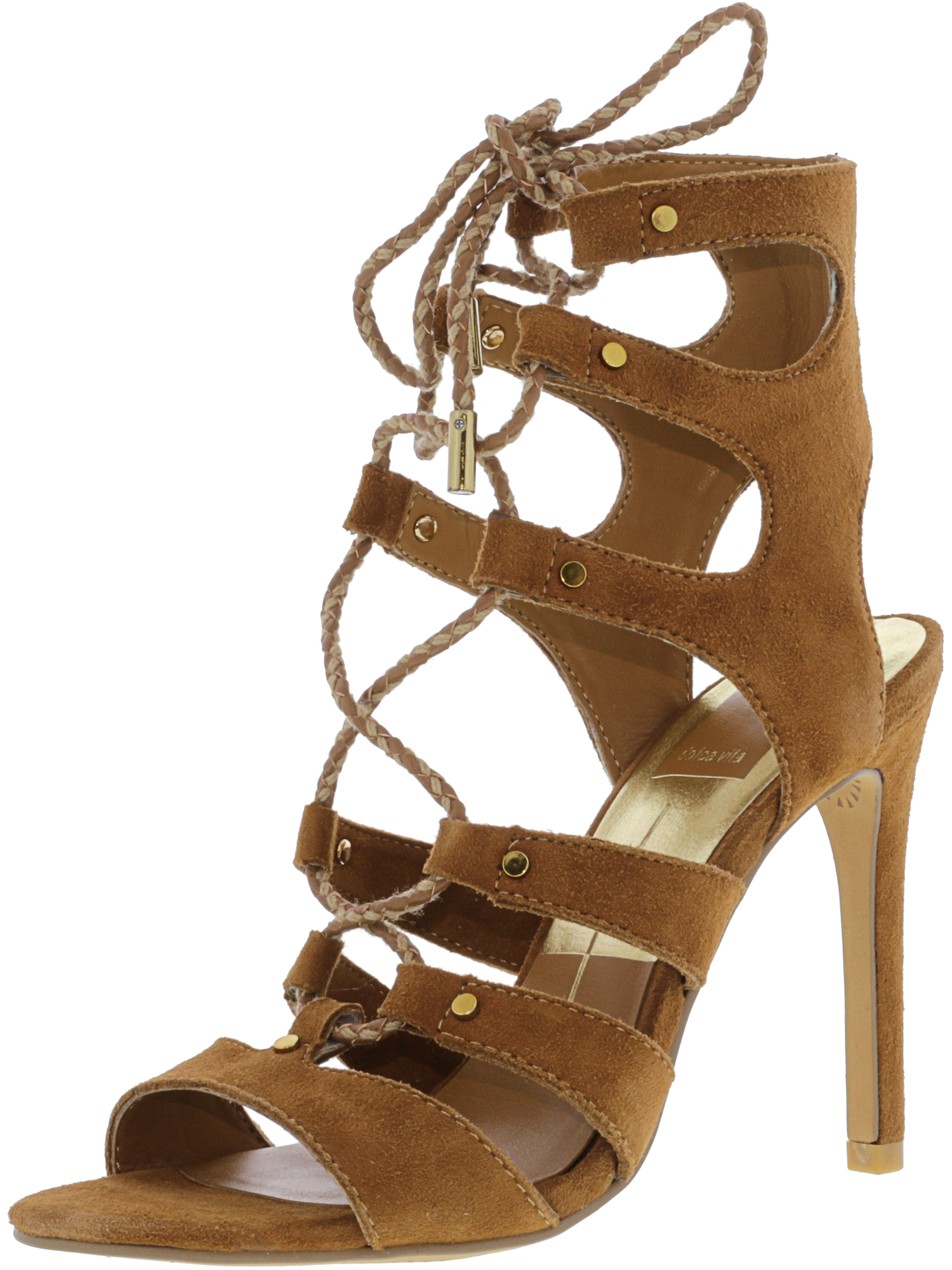 Dolce Vita Women's Howie Suede Dark Brown Ankle-High Pump - 8.5M