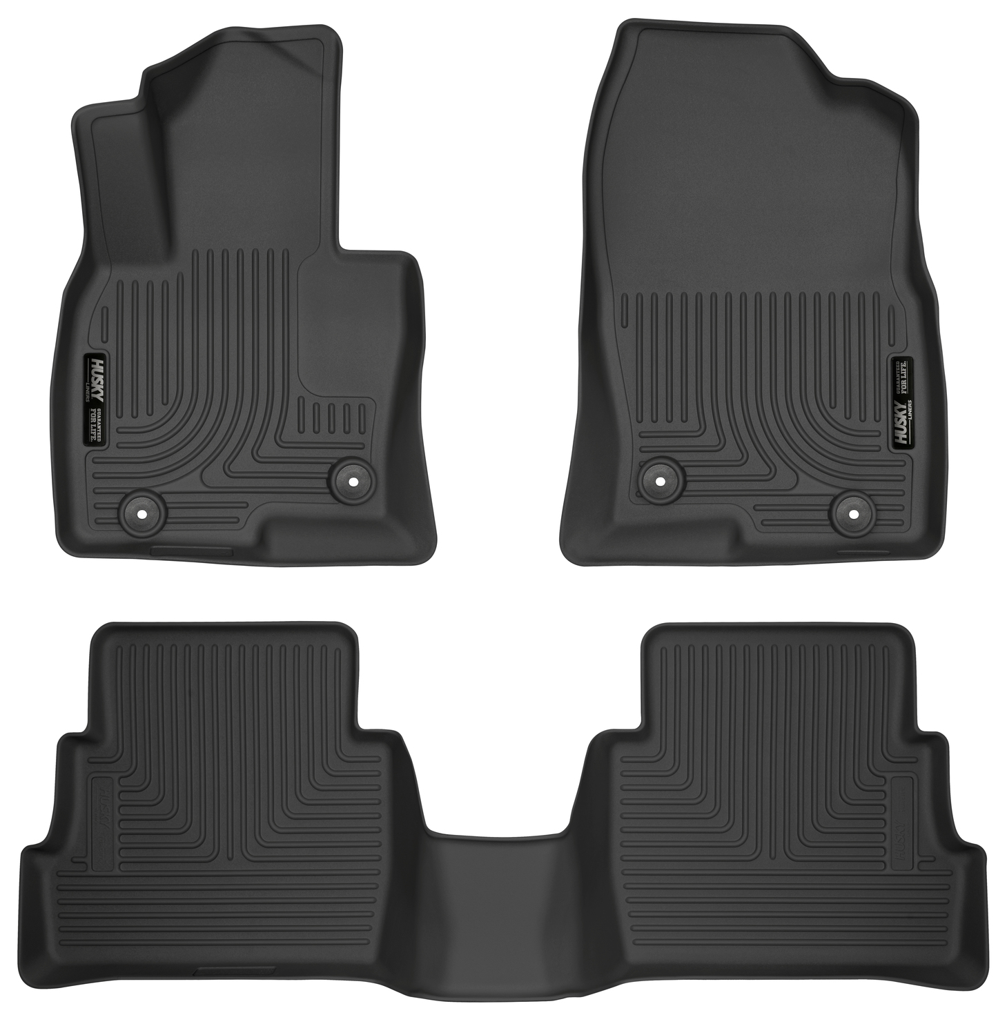 Husky Liners Front & 2nd Seat Floor Liners Fits 17-18 Mazda CX-5