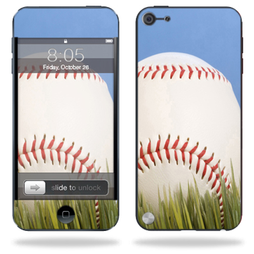 Mightyskins Protective Skin Decal Cover for Apple iPod Touch 5G (5th generation) MP3 Player wrap sticker skins Baseball