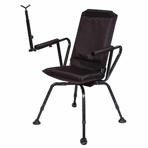 Altus Benchmaster Sniper Seat 360 Shooting Chair, Black